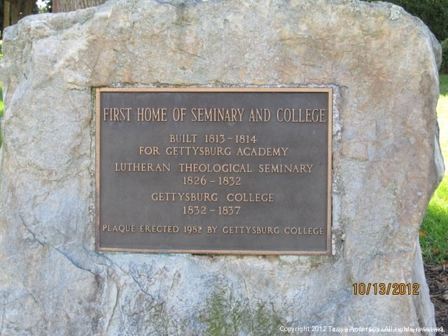 Lutheran Seminary Engraved Marker